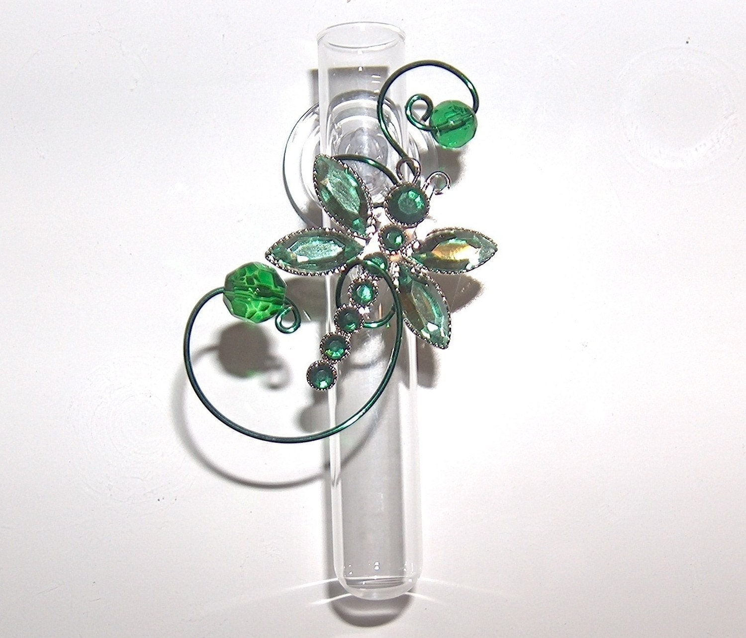 Suction Cup Vases Glass Rooting Vases Suction Cup Bud Vases