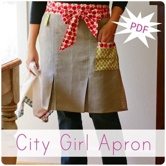 City Girl Apron Pattern