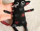 Plush Wolf Recycled Fabric - Beast-tee Family