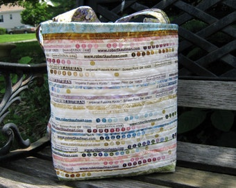 Tote Bag Upcycled Selvage