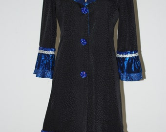 Blue Fantasy Coat\/Dress