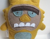 Humphrey the Monster Doll - Stuffed Animal, Softie, Toy, Plush, Felt