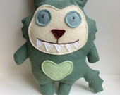 Milton the Monster Doll - Stuffed Animal, Cat, Softie, Toy, Plush, Felt
