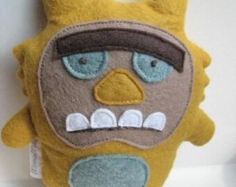 Humphrey the Monster Doll - Stuffed Animal, Softie, Toy, Plush, Felt