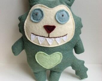 Milton the Monster Doll - Stuffed Animal, Cat, Softie, Toy, Plush, Felt