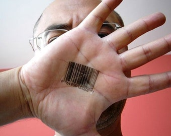 Barcode Number Tattoos
