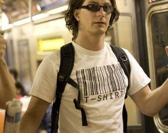 """Barcode """"T-SHIRT"""" Shirt"""