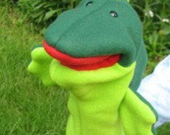 Green Snarf Puppet