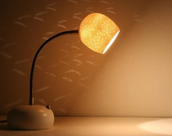 Desk Lamp with Touch Dimmer: Porcelain Egg
