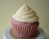 Soap - French Vanilla Cupcake Soap - Goat's Milk Soap - Gift for Her - Birthday gift - Yellow - Novelty - Teen - Christmas