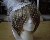 Stunning Top Hat headband Lovers Key to Heart Bridal Wedding Top Hat Facinator Crystal Headpiece