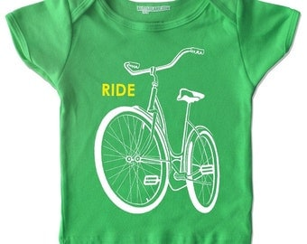 Kids bike shirt, bike tshirt, ride bike shirts, graphic tee, childrens clothing, bicycle t-shirt infant shirt youth sizes, birthday shirt