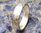 Sterling Silver Ring Band  Order Your size  Free US Shipping