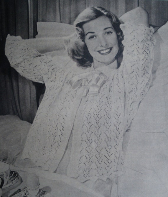 Knitting Vintage Things : Items similar to vintage s knitting booklet woman