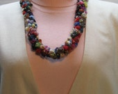 Felt Wool Necklace FREE SHIPPING