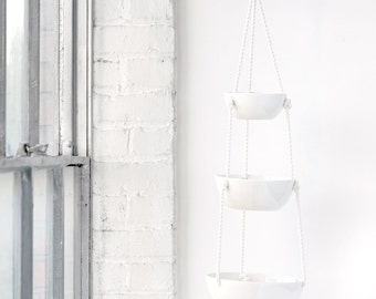 Tiered Hanging Baskets