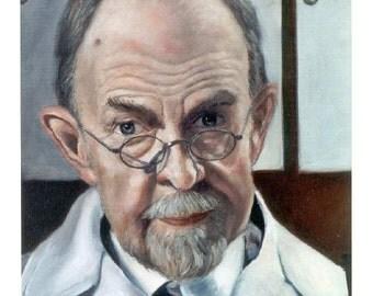 CUSTOM PORTRAIT 16 x 20  Oil Portrait on stretched canvas