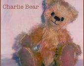 Digital pattern Charlie Teddy Bear