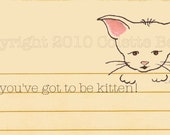 Got to be Kitten journal page