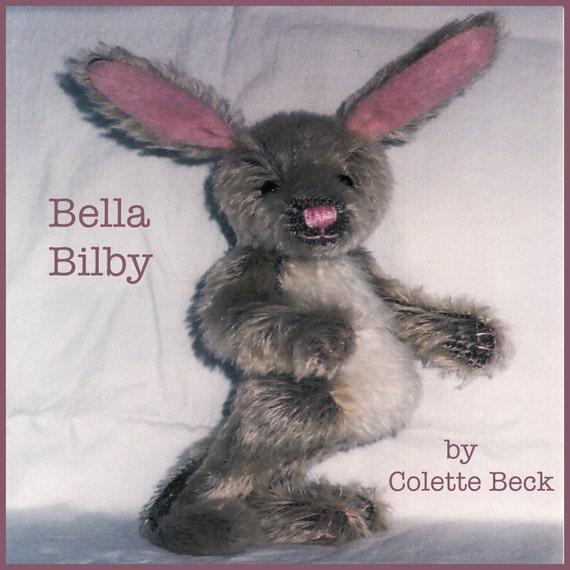 Digital art doll pattern Bella Bilby