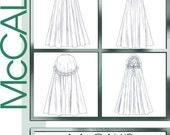 McCalls 4698 4 Cloak Cape Pattern Historical Renaissance Medieval Hood  Victorian Lined Cloak Costume sz Small Med Uncut Pattern
