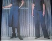 Vogue 2587 Calvin Klein American Designer Pattern Pants Collotte Shirt Womens Plus Size 18 20 22