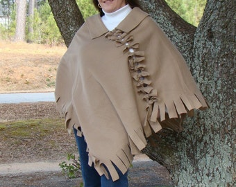 Beige Poncho - The Perfect Wardrobe Addition