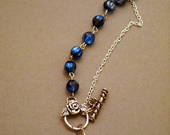 Owl  Lariat necklace