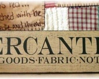 MERCANTILE Dry Goods Fabrics Notions