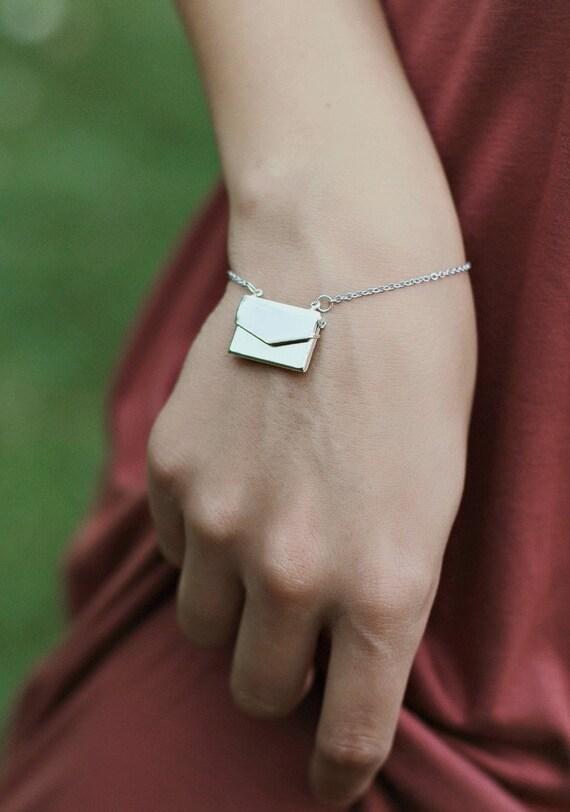 Love Letter Locket Bracelet