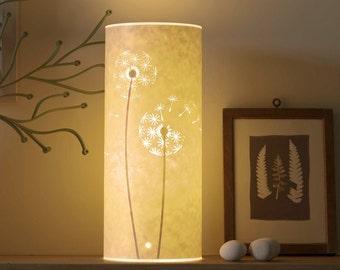 Small Dandelion Clocks Lamp