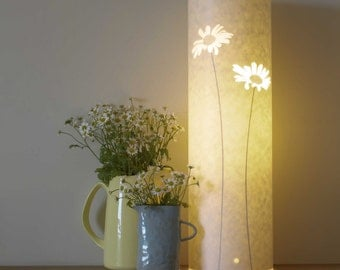 Tall Daisy Table Lamp