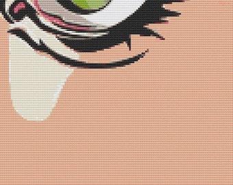 Cross Stitch Kit - Extreme Close Up By Thomas Fedro - Modern CrossStitch Kit