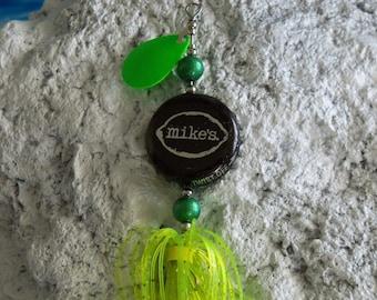 Any Single Fishing Lure Mens Gift 1pk.-The Original Spinning Bottle Cap Fishing Lure
