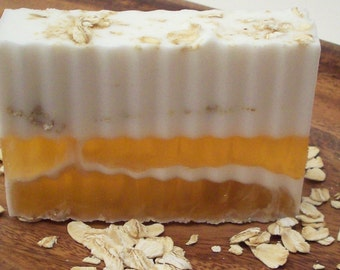 Goat Milk, Honey and Oatmeal Unscented Soap