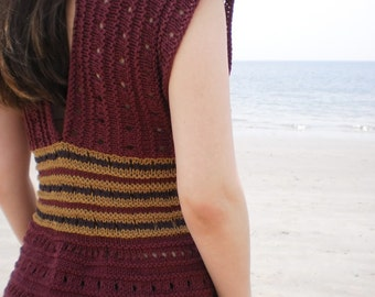 PATTERN for Malkah Knitted Top