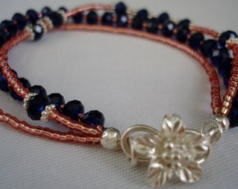 Midnight Glitter Bracelet