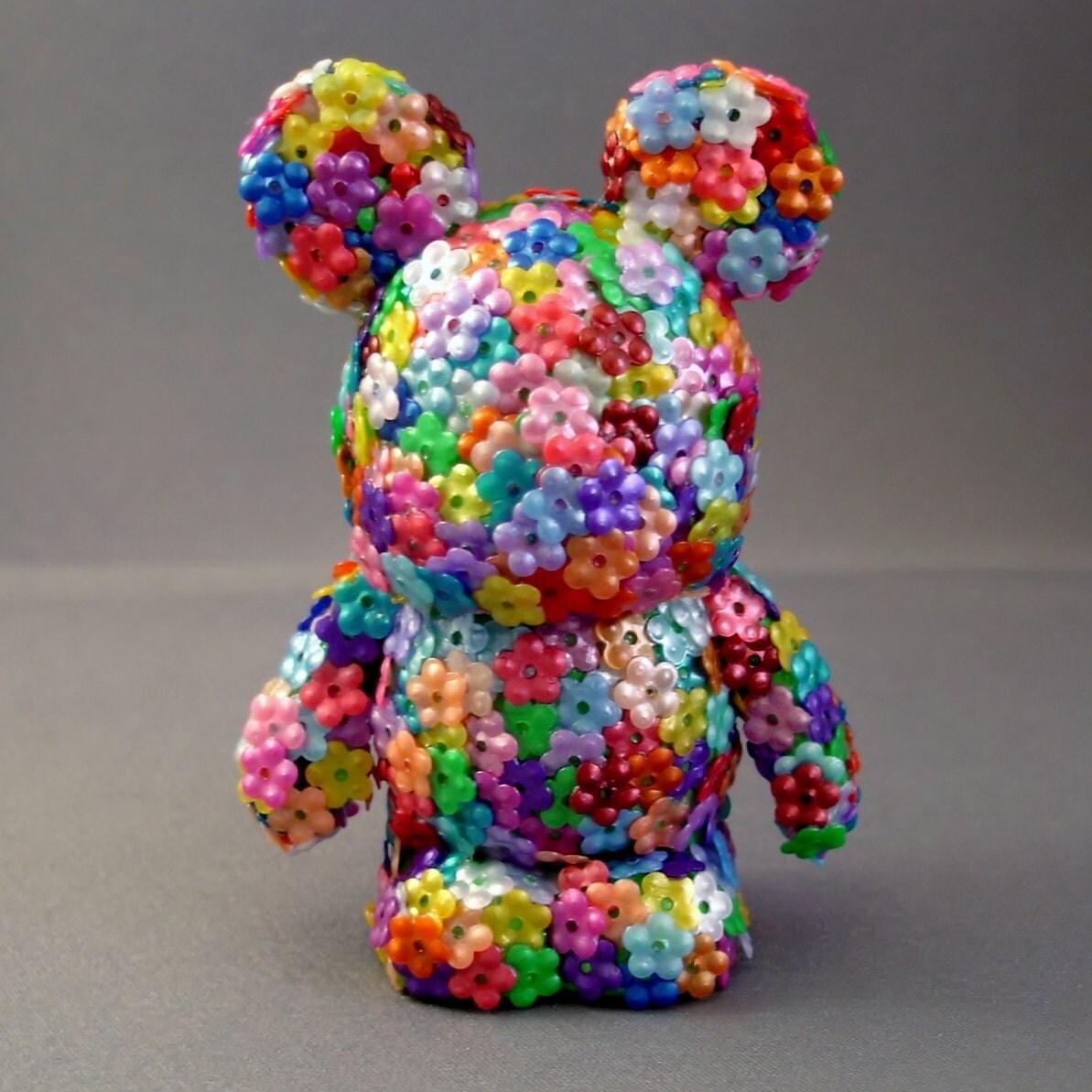 Flower Power Mouse Custom Vinylmation