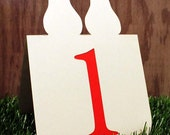 Perfect Pear Table Numbers Set of 1 to 25 Wedding