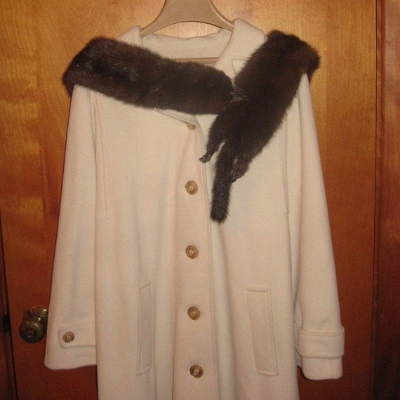 SALE! Vintage Furs 50's Stone Marten Fur Boa Wrap - SALE 149.99 (reduced from 160.00)
