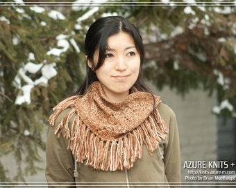 PATTERN - Fringy Cowl (PDF Data)