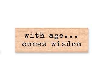 essay on wisdom comes with age