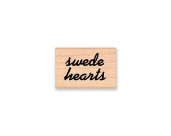 swede hearts~Rubber Stamp~Scandinavian~Swedish Crafts~Valentine's Day~Love~ Wood Mounted Rubber Stamp by Mountainside Crafts (10-02)