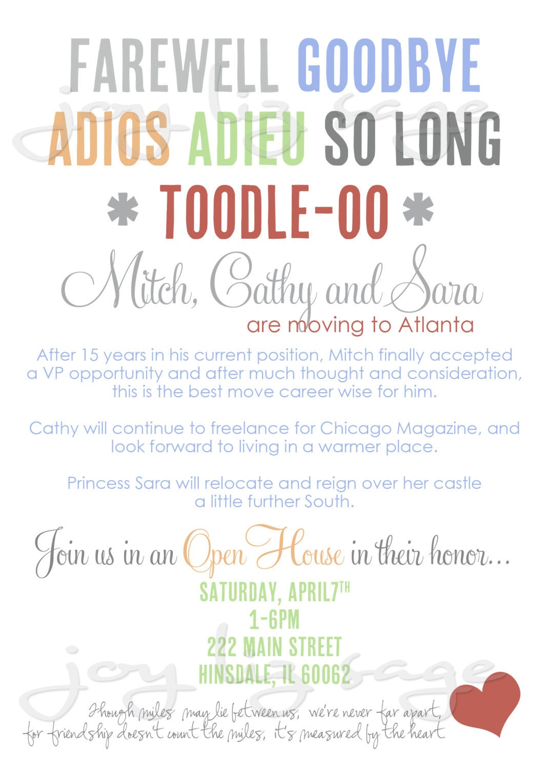 Goodbye Party Invitation Wording Funny as luxury invitations example