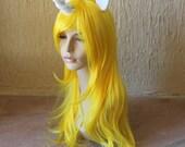 Lady Rainicorn costume cosplay wig - unicorn wig / rainbow / adventure time / Prince Bluebood costume