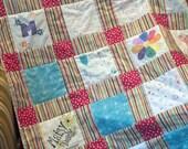 Custom Interactive Baby Shower Quilt