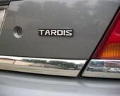 TARDIS Custom Car Emblem