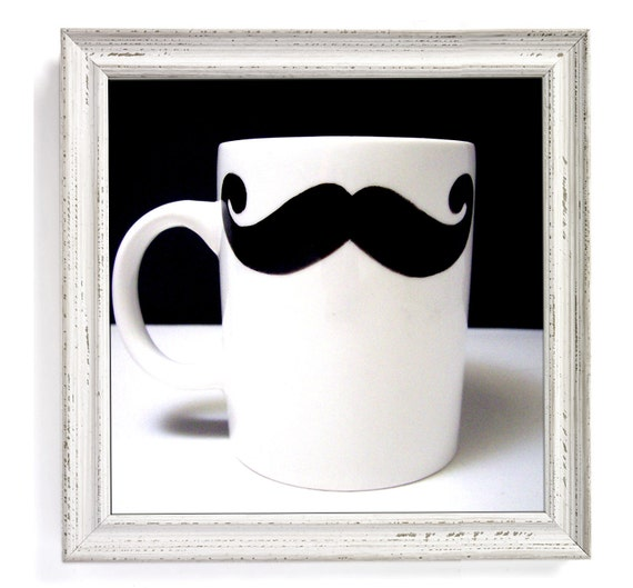 Geek Chic Mustache Mug
