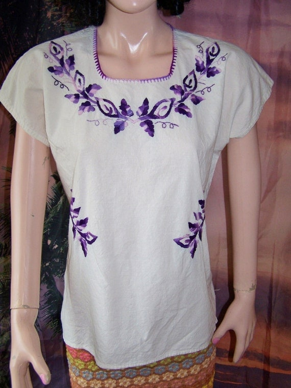 Embroidered Blouse Mexican shirt