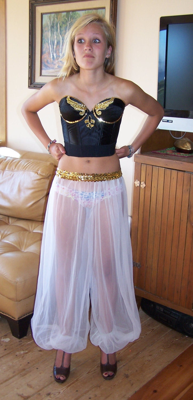 Harem Pants Costume I Dream of Jeannie sz S / M